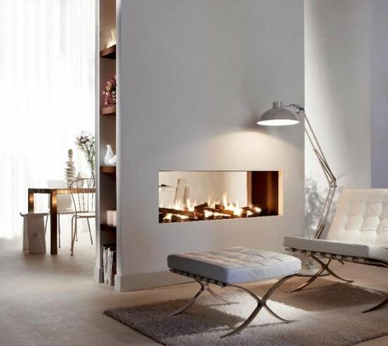 Reforma de viviendas estilo escandinavo - Chimeneas y ambientes ...