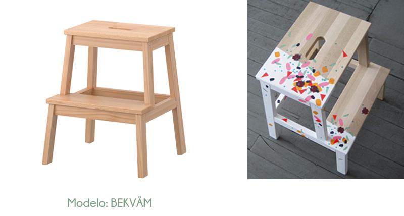 Personalizar muebles de ikea estilo escandinavo for Mueble escalera ikea