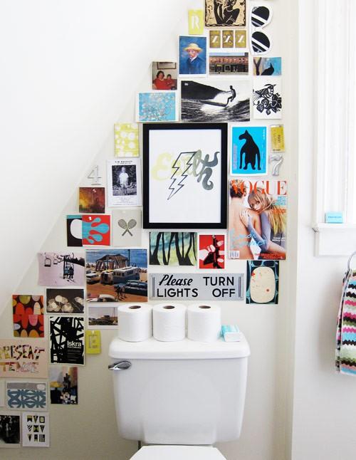 cuadros para decorar baños | Estilo Escandinavo