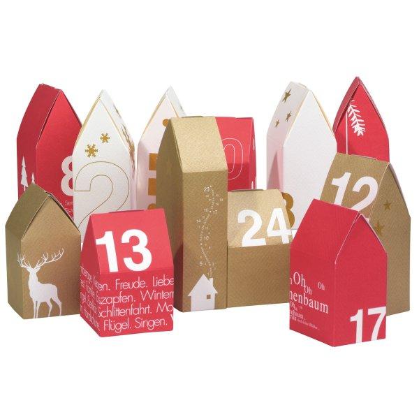 se acerca la navidad entretener la espera con calendarios de adviento estilo escandinavo. Black Bedroom Furniture Sets. Home Design Ideas