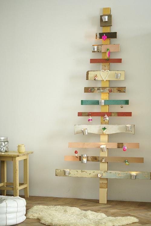 hechos - Arbol De Navidad De Madera