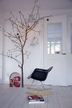 Arboles de navidad de madera estilo escandinavo - Papel pintado ramas arbol ...