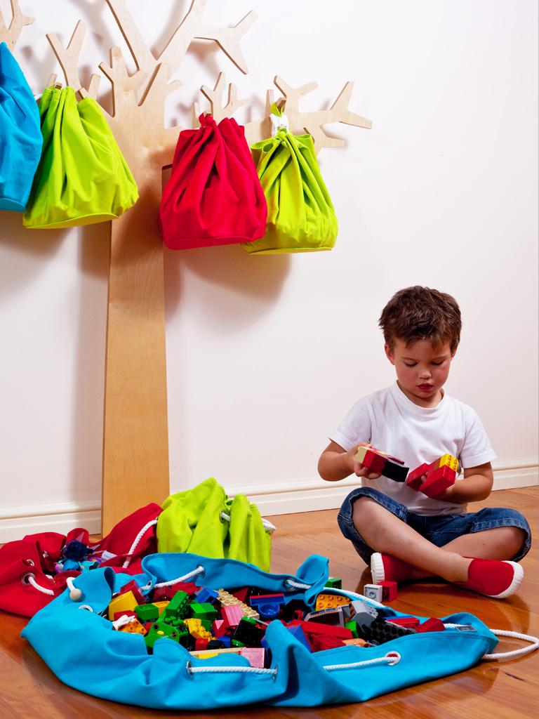 Ideas para almacenar juguetes estilo escandinavo - Cajones guarda juguetes ...