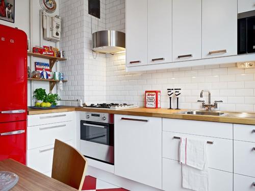 Chambre Winnie L Ourson Carrefour : aquí mi pequeña selección para darle un toque en rojo a la cocina