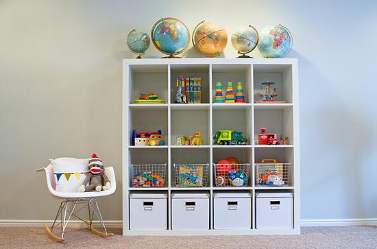 Ideas para organizar los juguetes Estilo Escandinavo