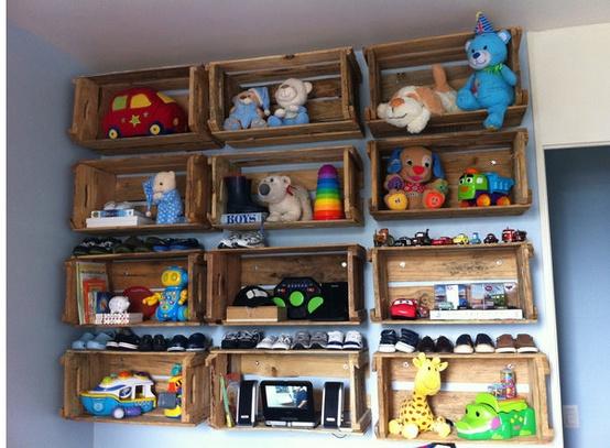 jugueteros originales Estilo Escandinavo