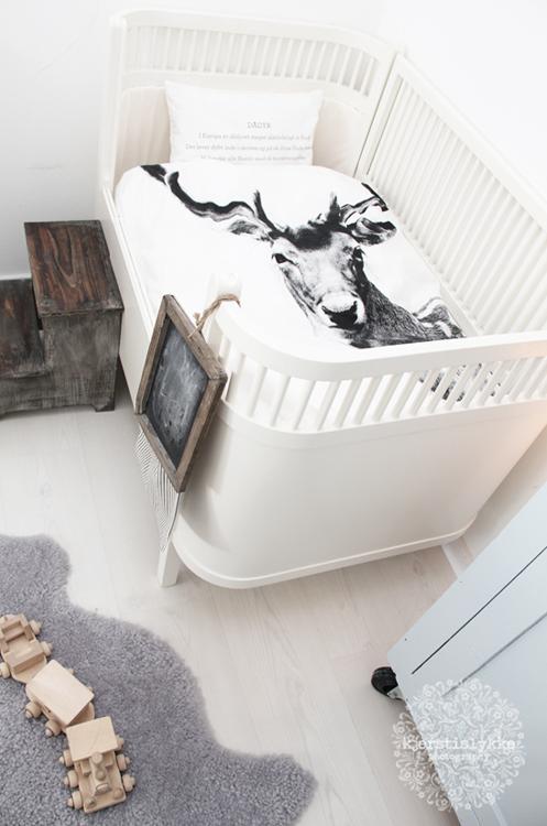 Dormitorios infantiles estilo n rdico estilo escandinavo - Dormitorios infantiles nordicos ...