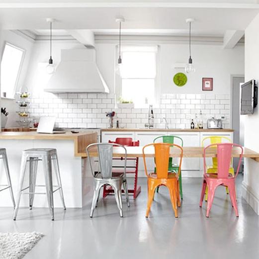 Cocinas estilo n rdico estilo escandinavo for Cocina de estilo industrial