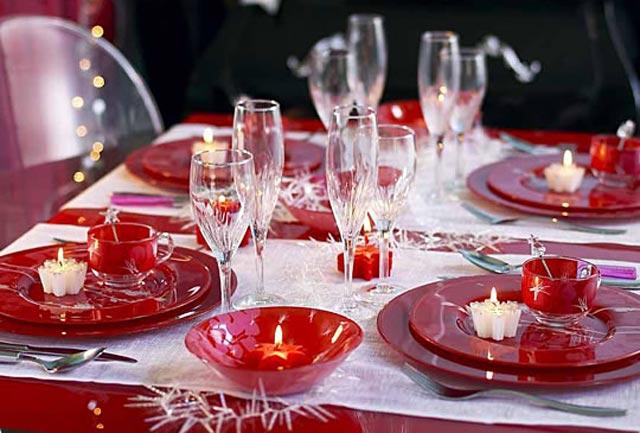 Ideas para decorar mesa en navidad estilo escandinavo - Vajilla de navidad ...