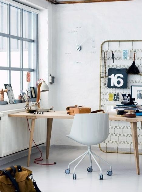 Decoración en despachos | Estilo Escandinavo