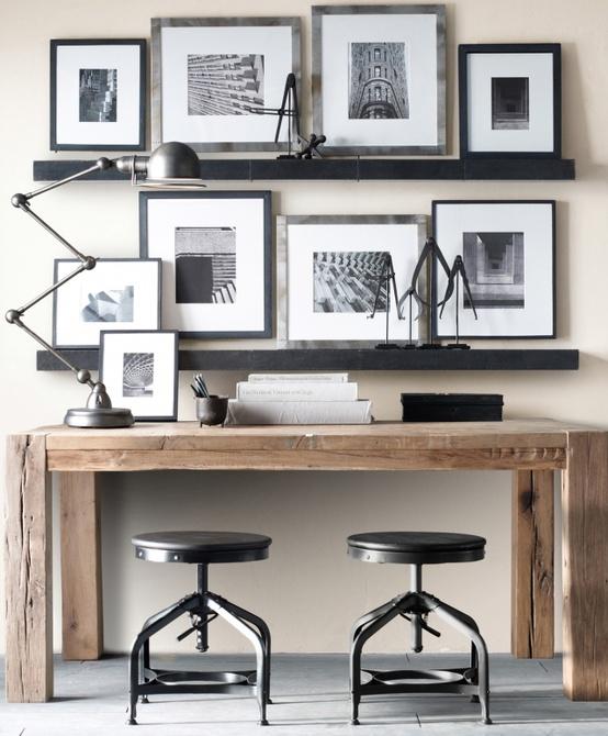 Decoraci n en despachos estilo escandinavo for Decoracion de despachos