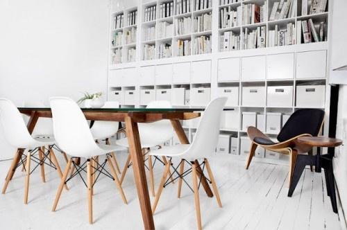 Mesas de comedor en madera estilo escandinavo for Comedor escandinavo