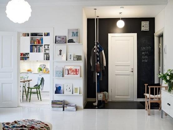 Recibidores estilo escandinavo estilo escandinavo - Decorar una entrada ...