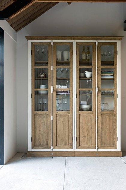 Alacenas un mueble con mucho encanto estilo escandinavo - Vitrinas para vajillas ...