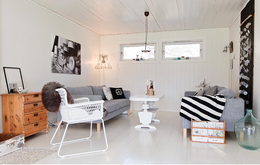 Casa estilo escandinavo estilo escandinavo - Estilo escandinavo decoracion ...