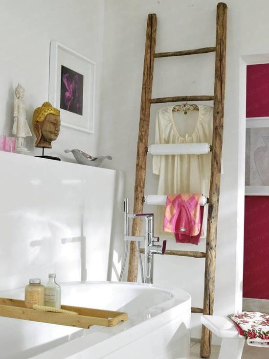 Reutilizar escaleras de madera para decorar estilo for Como decorar una escalera