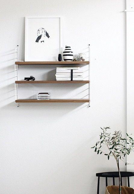 Estanter as de madera estilo escandinavo - Baldas de diseno ...