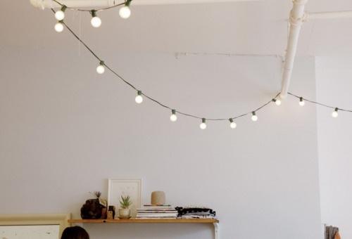 Guirnaldas con luces estilo escandinavo - Guirnaldas de luces ...