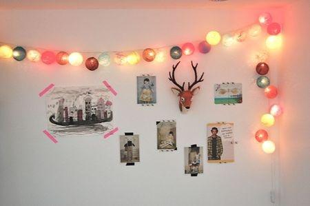 Guirnaldas de luces estilo escandinavo - Guirnaldas de luces ...