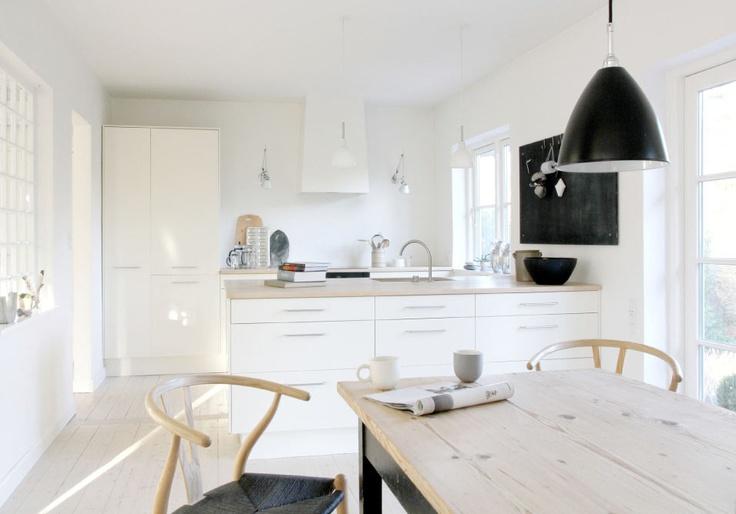 Cocinas en blanco estilo escandinavo - Cocinas acogedoras ...