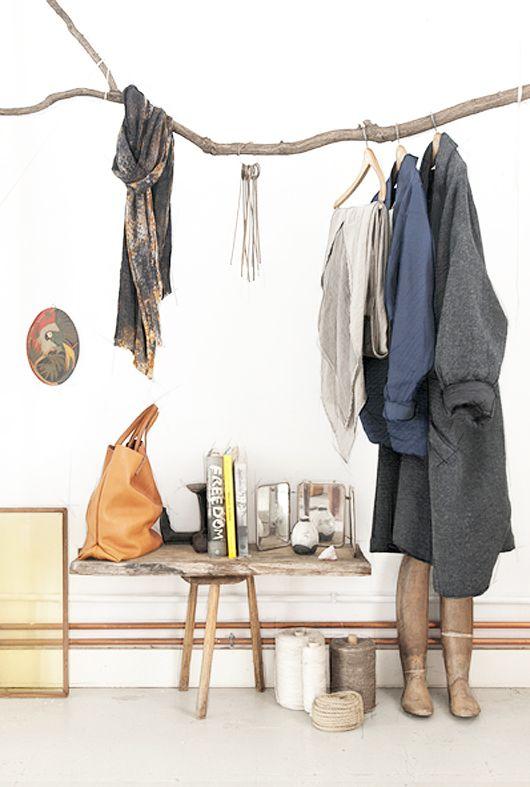 ramas perchero 06 estilo escandinavo. Black Bedroom Furniture Sets. Home Design Ideas