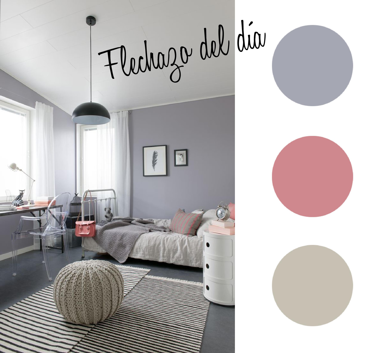 Flechazo dormitorio juvenil estilo escandinavo estilo for Dormitorio juvenil nina