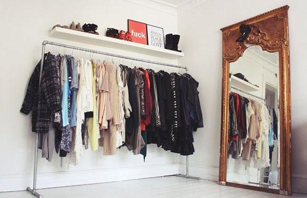 Decorar con burros de ropa estilo escandinavo - Burro para colgar ropa ...