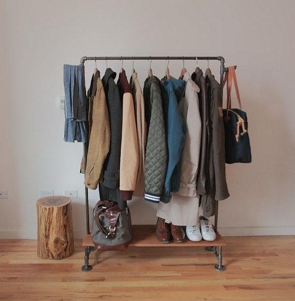 Decorar con burros de ropa estilo escandinavo - Burra para colgar ropa ...