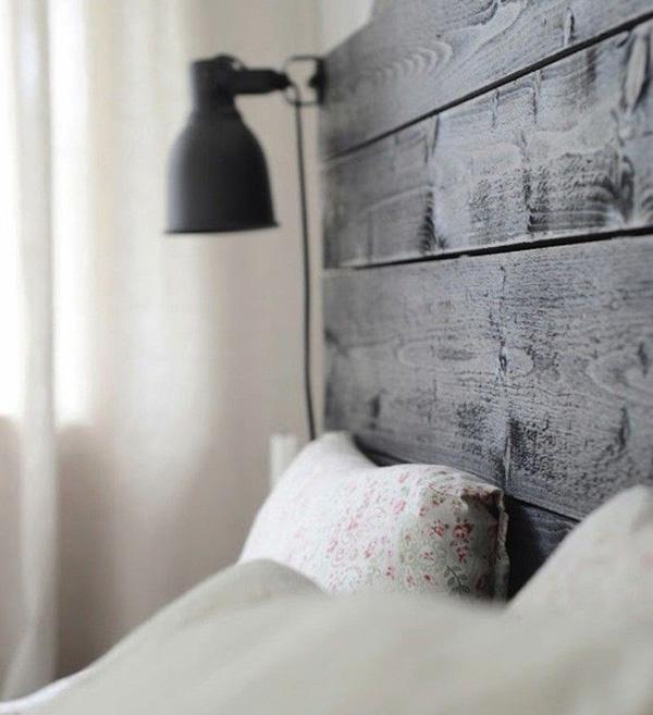 Cabeceros de madera estilo escandinavo for Cabeceros de cama estilo nordico