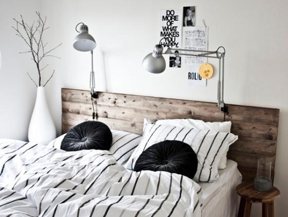 Cabeceros de madera estilo escandinavo - Cabeceros con estilo ...