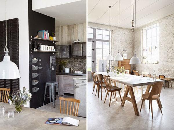 Casa industrial estilo escandinavo04 estilo escandinavo for Lamparas estilo escandinavo