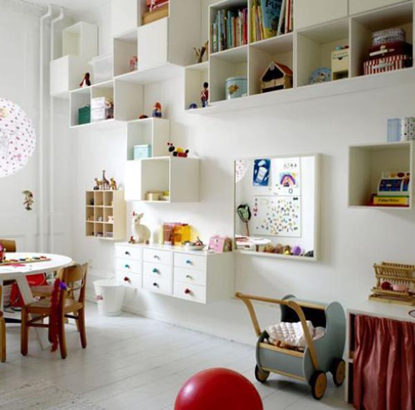 25 Best Ideas About Kids Room Shelves On Pinterest: Decorar Habitación Infantil Con Cubos En La Pared