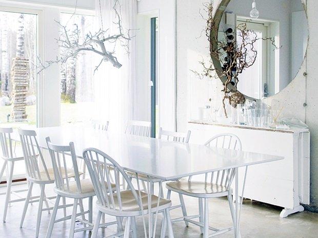 Vivienda de estilo escandinavo minimalista estilo escandinavo - Cabecero estilo escandinavo ...