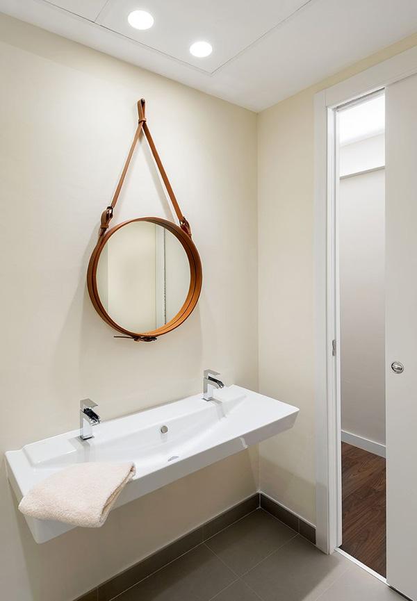 espejos circulares estilo escandinavo