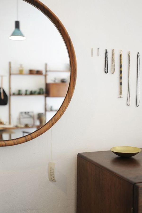 Espejos circulares estilo escandinavo - Espejo nordico ...