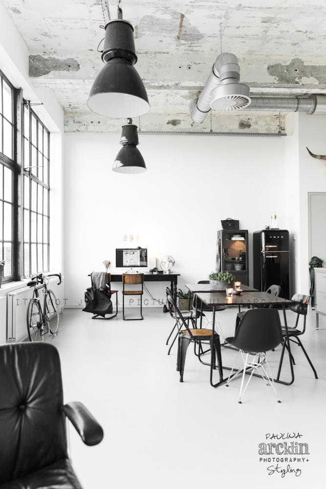 Loft de estilo industrial estilo escandinavo for Lamparas estilo escandinavo